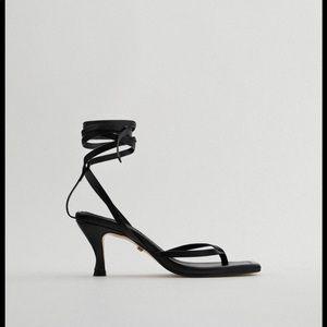 Nwt zara sandals square toe! Bloggers pick